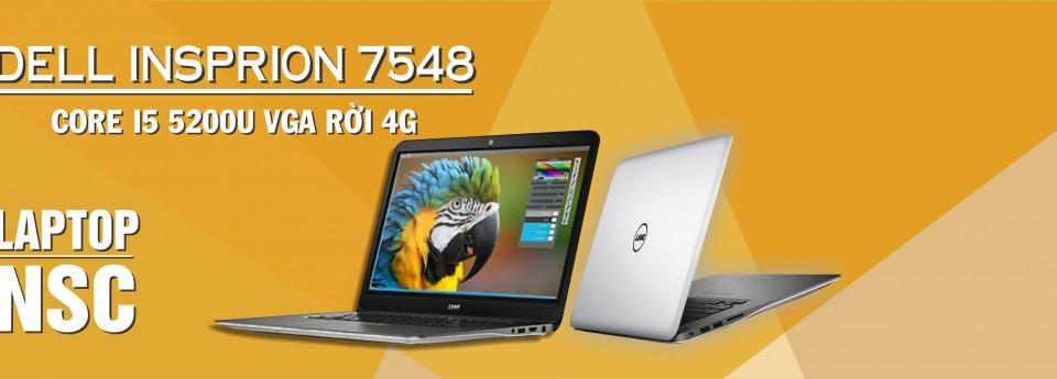 Dell Inspiron 7548 i5 5200U VGA 4G