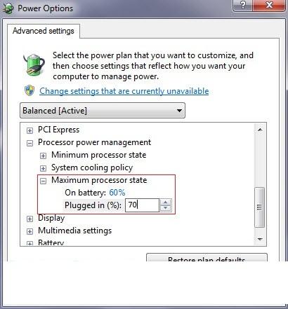 Cách làm laptop xách tay đỡ bị nóng