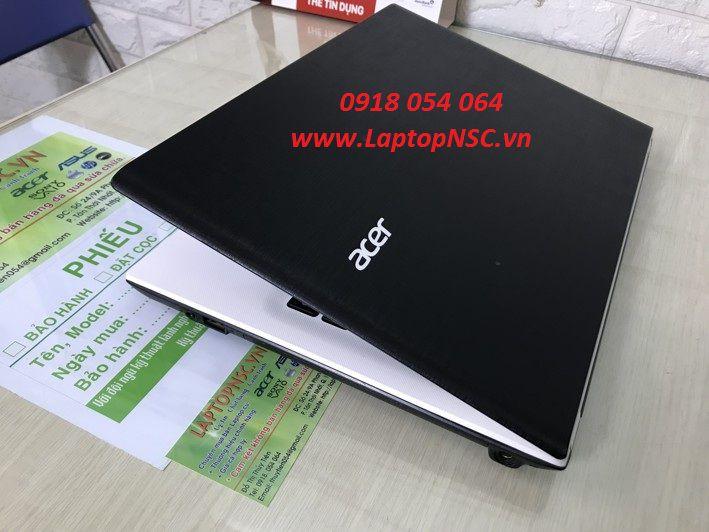 Acer Aspire E5-473 i3 4005U (White)