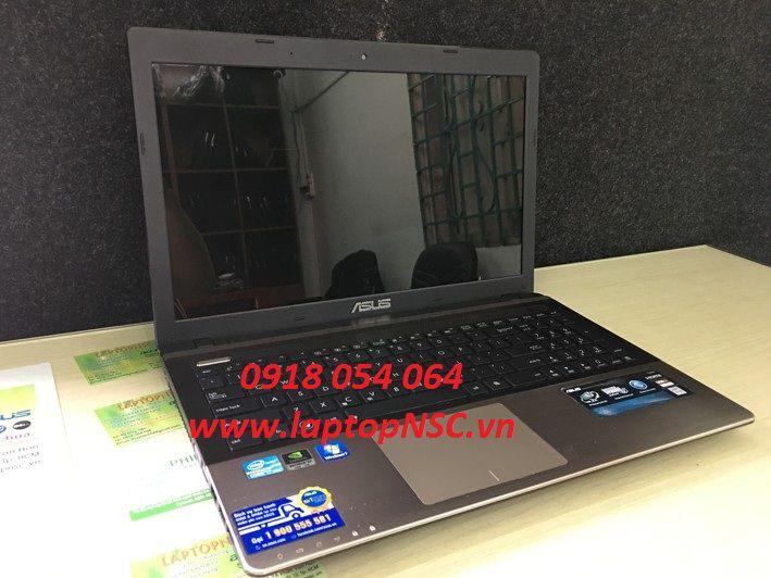 Asus K55VM i7 3632QM, VGA 2G, 8G, SSD, 15.6 Inch Vỏ nhôm